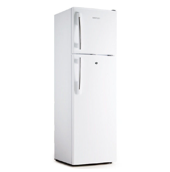 Fast Cooling Low Power Low Noise Direct Cool Double Door Refrigerator , 275L Manual Defrost Freezer