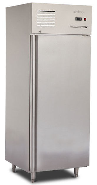 1/2 Door Commercial Kitchen Refrigerator 500L Capacity Free Standing Installation