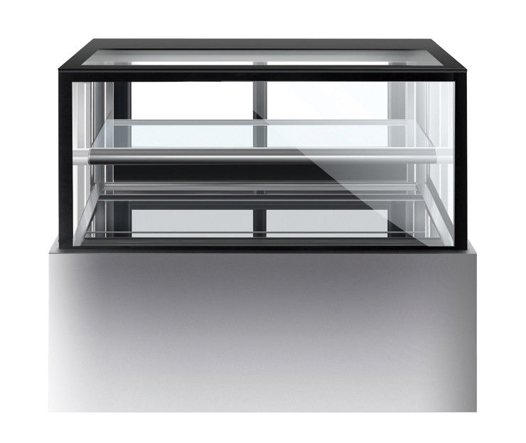 1800mm One Layer Fridge Display Cabinet , Commercial Chilled Cake Display